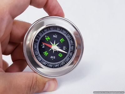 TRADITIONAL MILITARY HIKING POCKET METAL COMPASS CAMPING VINTAGE OUTDOOR ARMY UK