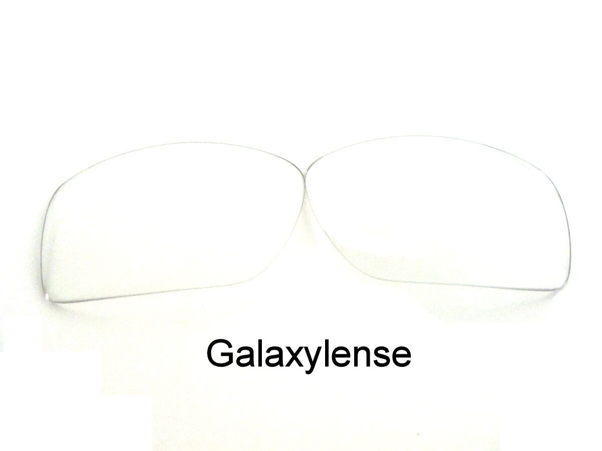 7dd56043a4 Details about Galaxy Replacement Lenses For Oakley Big Taco Sunglasses  Crystal Clear Color
