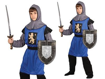 Kinder Mittelalter Ritter Kostüm Kreuzritter Kinder Jungen Alter (Jungen Mittelalter Kostüme)