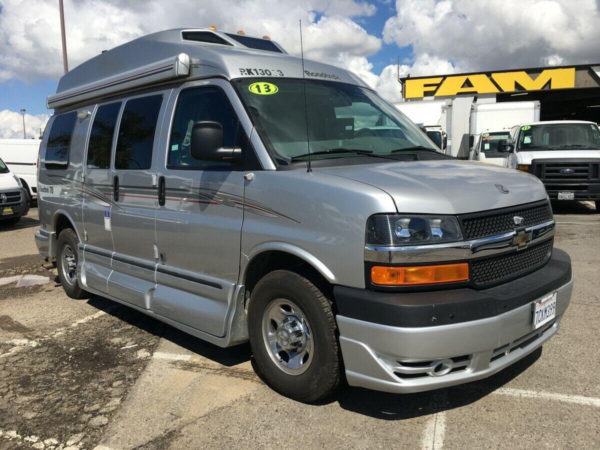 2013 Chevrolet Express Carretera Trek 170 Versatil Camper Van Ebay