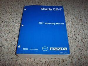 2007 Mazda CX7 Workshop Shop Service Repair Manual Sport Touring Grand Touring