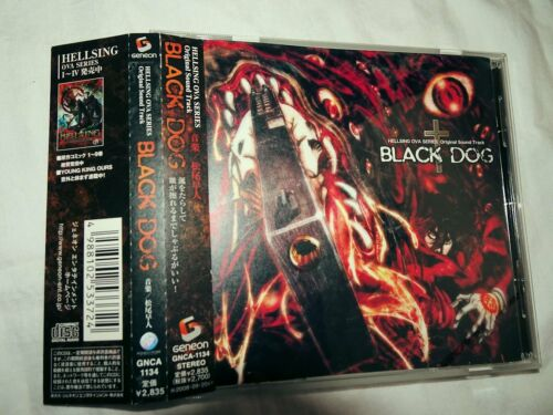 RARE HELLSING OVA SERIES OST CD BLACK DOG w/ OBI Strip Spine card