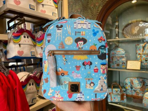 """Disney """"Walk in the Park"""" Maruyama Backpack by Dooney and Bourke"""