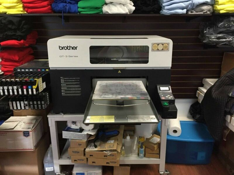Brother GT 381 Direct to Garment Printer Used excellent maintenance history