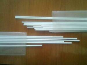 Silver Ag 45 % Solder Brazing Rods Flux Coated 10 pcs x 1.5 x 500mm Cadmium free