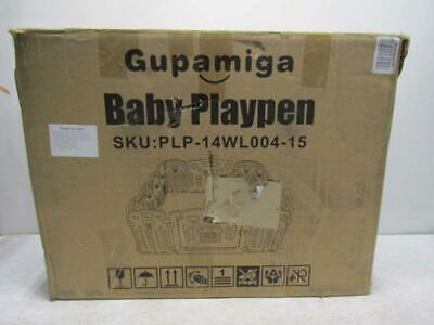 Gupamiga 14-Panel Baby Playpen, Multicolor, PLP-14WL004-15