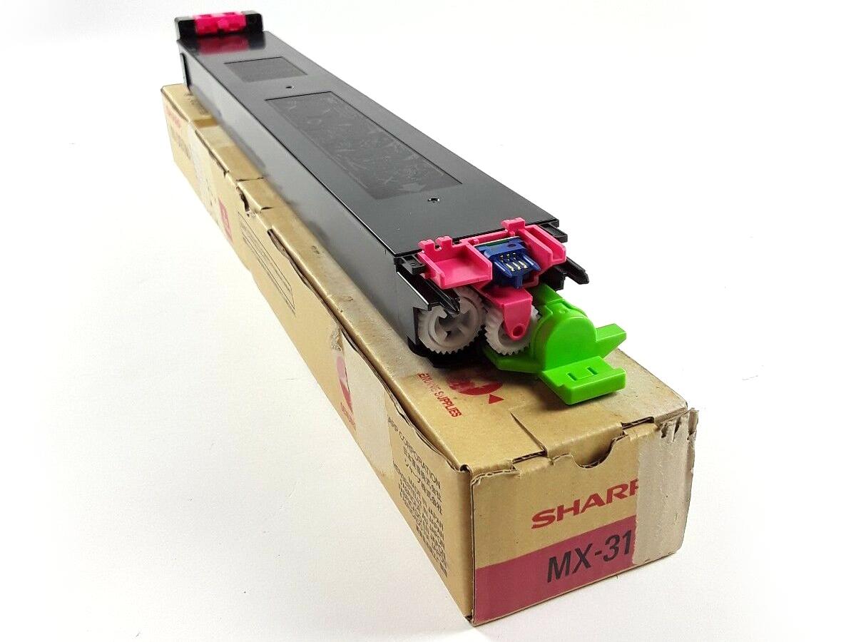 Sharp mx31gtma toner magenta original laser pour imprimante mx-2600n/mx-3100n