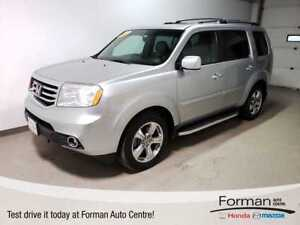 2012 Honda Pilot EXL|Rmt Start|Htd Leather|S.Roof|P. Tailgate|Ca