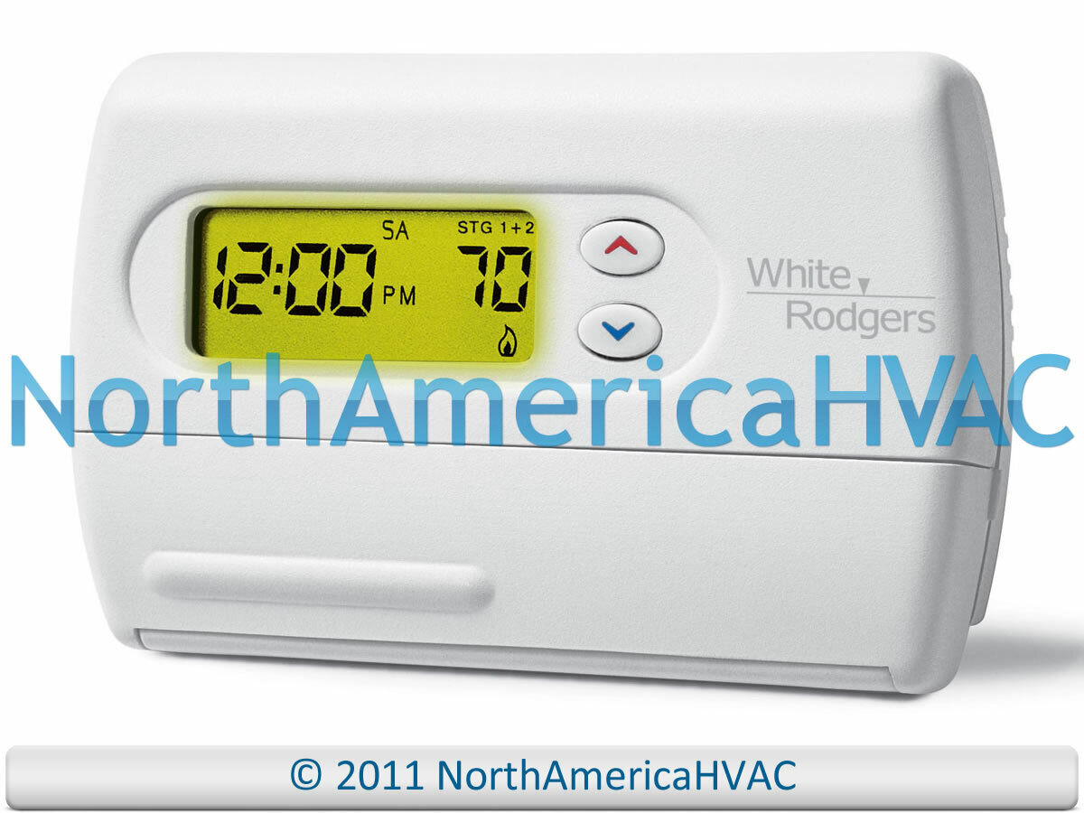 1F85-277 1F85277 WHITE-RODGERS DIGITAL 7 Day PROGRAMMABLE TH