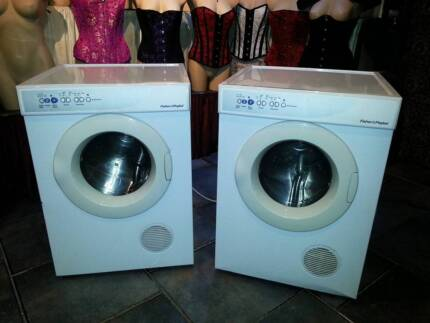 4 x Fisher & Paykel Dryer ED56 Auto Sensing with Anti-crease mode