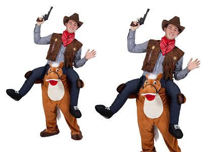 Trage Mich Schweinchen Rücken Pferd Lustig Erwachsene Maskottchen Kostüm