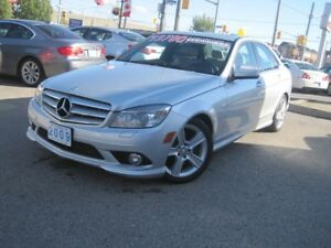 2009 MERCEDES BENZ C-300 4MATIC | AWD • Sunroof •
