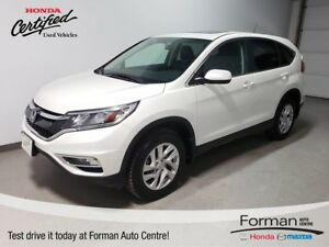 2015 Honda CR-V EX-L |Certified|Htd Leather|Sunroof|Camera|Local