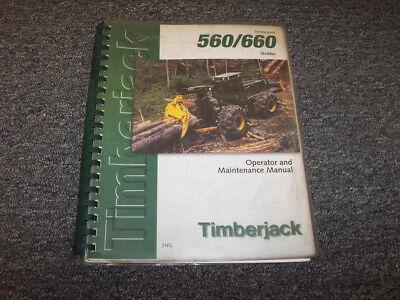 Timberjack 660 Skidder Owner Operator Maintenance User Manual Book S 10ec1037