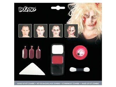 Halloween Make-Up Kit 45085 Horror Schminke Kunstblut inkl. - Halloween Make Up Kits