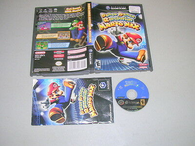 DANCE DANCE REVOLUTION MARIO MIX DDR (Nintendo Game Cube NGC) Complete NO PAD, used for sale  Shipping to India