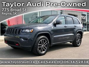 2017 Jeep Grand Cherokee Trailhawk FULLY LOADED, ADAPTIVE SUS...
