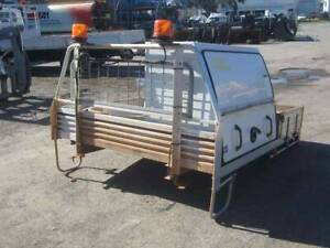 BOSSTON ALUMINIUM UTE TRAY WITH BULLBOX MOUNTED (SG180801WG) Kewdale Belmont Area Preview