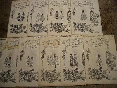 Frankis   Victorian Era   Silhouette Parisian 15    31  Doll Dress Patterns  Ff