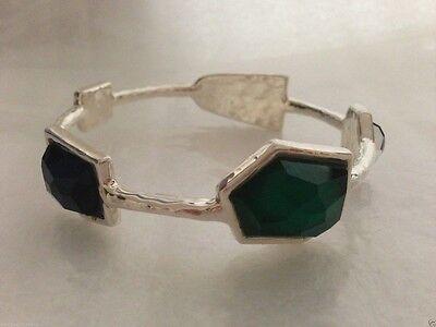 "IPPOLITA ""Bedrock"" 5-stone Bangle in Blue Green Doublet Bracelet"