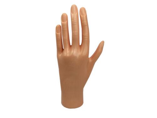 Beauticom® High Quality Premium (Hard) Practice Manicure Nails Hand For Training