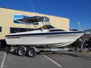 HAINES SIGNATURE 530F WITH A FOUR STROKE, GREAT FIRST BOAT Wangara Wanneroo Area Preview