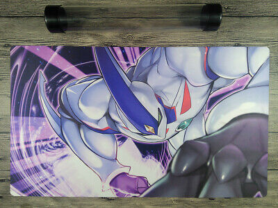 YuGiOh GX Elemental HERO Neos Custom Trading Card Game Playmat Free Best tube
