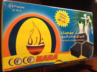 Coconara Coco Nara Coconut Shisha Hookah Coal 84pcs The Worlds Best Shisha (Best Coco Hookah Coals)