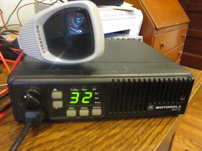 Motorola Maxtrac 16 Pin Vhf 45w Mobile Radio D43mja7da5ck W Microphone