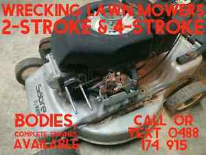 Wrecking Lawn Mowers Colyton Penrith Area Preview