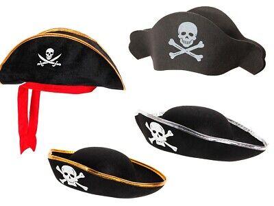 Totenkopf Piratenhut Seeräuber Pirat Hut Piratenparty Piratenkostüm - Piraten Hut Kostüme