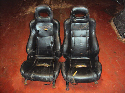 Honda CRX Vtec 1991 -  Honda Interior Front Leather Seats