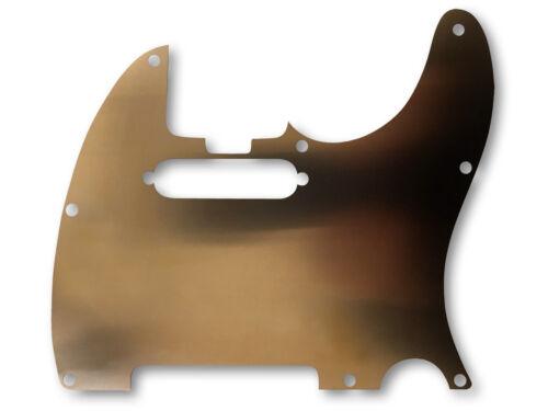 ".006"" Tele Telecaster Pickguard Shield - Copper"