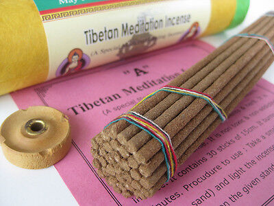 Tibetan Meditation Incense ~ Formulated as per Tibet Buddhist medical tantra