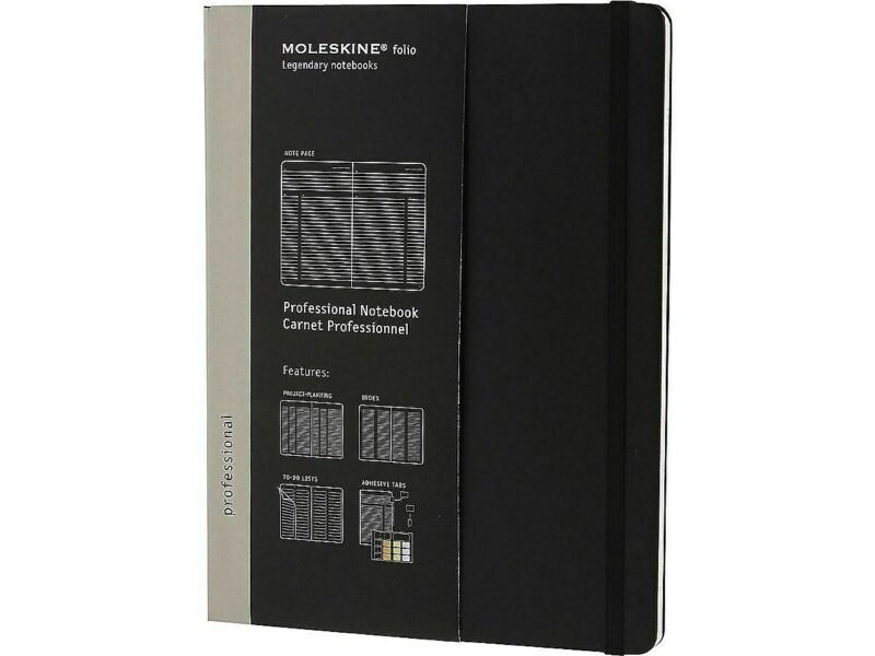 Moleskine Folio Professional Notebook, Extra 620800