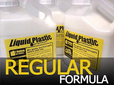 NEW 1 GALLON Premium REGULAR LIQUID PLASTIC plastisol Fishing Soft Bait Mold