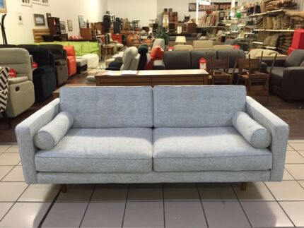 TATLER 3 SEATER PARK SILVER BY OZ DESIGN (2 available) Logan Central Logan Area Preview