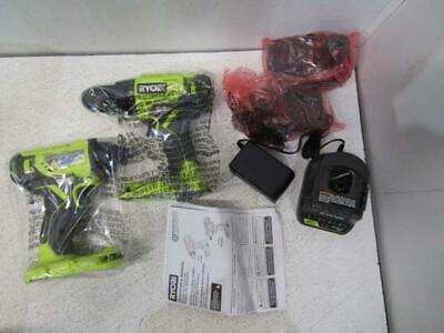 Ryobi 18 Volt One Cordless Drilldriver And Impact Driver Combo Kit P1817
