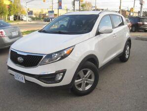 2014 KIA SPORTAGE LX | Manual • VERY Low KM !!! • Alloys • Fog Lights •Steering Wheel Controls