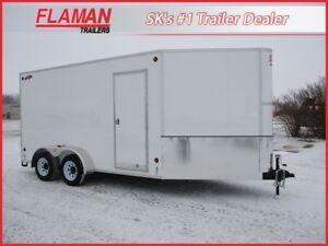 2018 CJAY FX9-714--78-T35 Enclosed Cargo Trailer