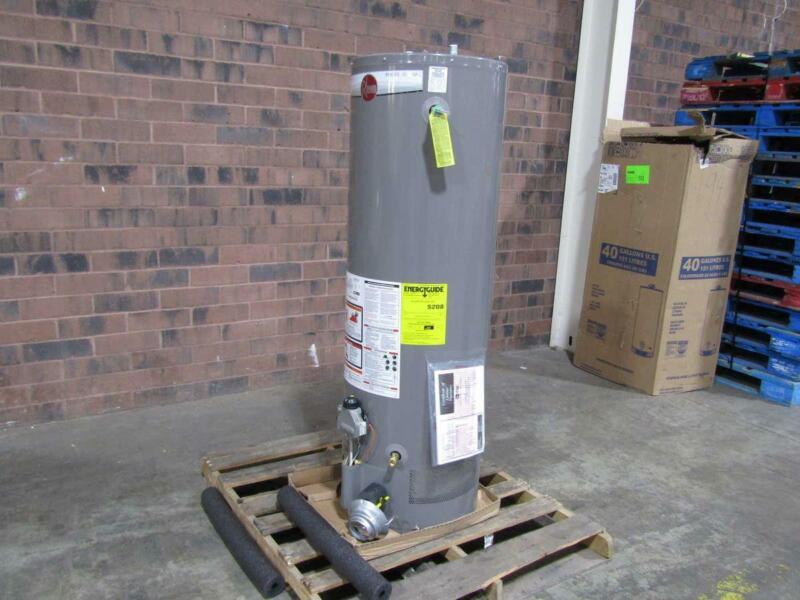 Rheem Pro40 40 Gallon 38,000 BTU Residential Gas Water Heater 38NRH62