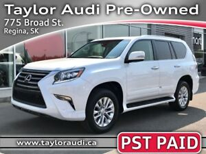 2015 Lexus GX 460 Premium PST PAID, LOCAL TRADE, FULLY LOADED