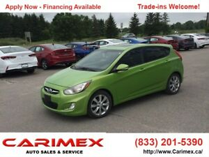 2012 Hyundai Accent GLS Sunroof | Keyless Entry | CERTIFIED