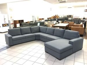 ASHER FABRIC CORNER LOUNGE Logan Central Logan Area Preview