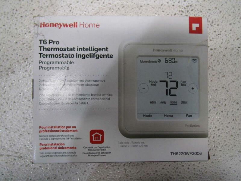 Honeywell Home T6 Pro Programmable Smart Thermostat TH6220WF2006
