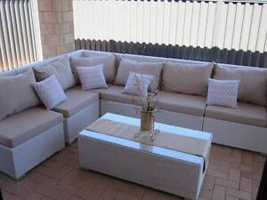 Finally Back in Stock Outdoor Modular L Shape Lounge Wicker Wangara Wanneroo Area Preview