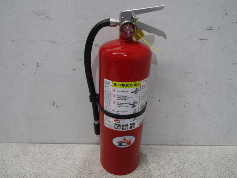 Badger 10 lb. Dry Chemical Fire Extinguisher 10MB-8H