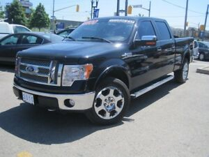2010 FORD F-150 LARIAT | 4X4 • Leather • Chrome PK