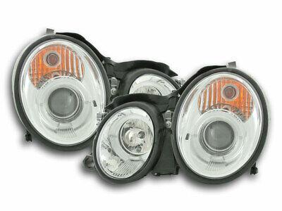 FK-Automotive Scheinwerfer Set Mercedes CLK Typ W208 Bj. 98-02 chrom NEU & OVP