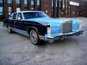 1977 Lincoln Continental TOWN CAR-EVERY OPTION,SUPER CLEAN,VERY